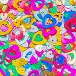 Background of small hearts — Stockfoto #62781217