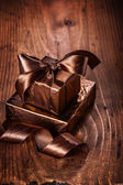 Two classical gift boxes — Stock Photo