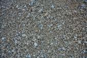 Texture of messy gravel — Stock Photo