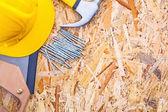 Set of construction tools — Stock Photo