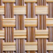 Plastic wicker woven texture — Stock Photo #67094185