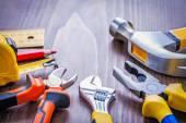 Set of hand tools — Stock Photo