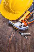 Set of construction equipment — Stock Photo