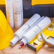 Set of tools construction concept — Stock Photo #69017095