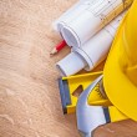 Yellow helmet claw hammer — Stock Photo #69018271