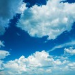 Blue sky with clouds — Stock Photo #69624869