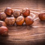 Small heap of hazelnuts — Stock Photo #69627801