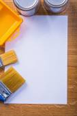 Copyspace with painting tools — Stock Photo
