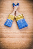 Two paint brushes — Stock Photo