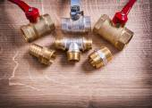 Group of Pipe Connectors — Stockfoto