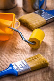 Painting tools very close up — Stock Photo