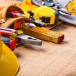 Construction tools set — Stock Photo #72699959
