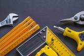 Construction tools set — Stock Photo