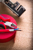 Set of electric working tools — Stok fotoğraf