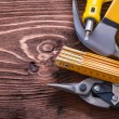 Group of various working tools — Stock Photo #72715845