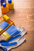 Set of tools for painting — Stock Photo