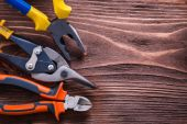 Nippers, pliers and wire-cutter — Foto de Stock