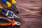 Nippers, pliers and wire-cutter — Stock Photo
