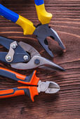 Pliers nippers and wire-cutter — Stock Photo