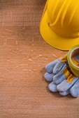 Set of safety tools — Stock Photo