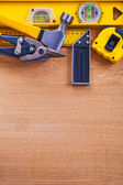 Set of construction, working tools — Stock Photo