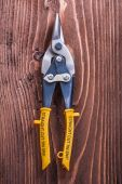 Yellow metal wire-cutter — Stock Photo