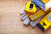 Working tools for  measurement — Stock Photo