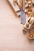 Woodworkers joinery tools — Stock Photo