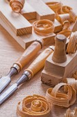 Old fashioned joinery tools — Stock Photo