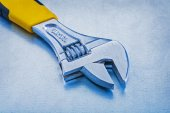Metal adjustable spanner — Stock Photo