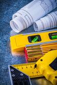House-improvement working tools — Stock Photo