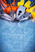 Tin snips, gripping tongs, nippers — Stock Photo