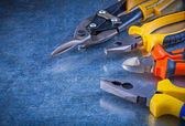 Tin snips, pliers, wire-cutter — Stock Photo