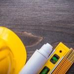 Blueprint, construction level and blueprint — Stock Photo #78563584