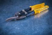 Steel tin snips — Stock Photo