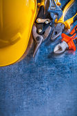 Group of repairing construction tools — Stock Photo