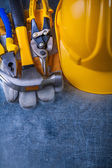 Composition of working tools — Stock Photo