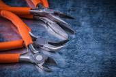 Insulated cutting pliers gripping tongs — Stock Photo