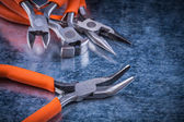 Insulated electric nippers — Stock Photo