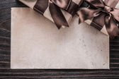 Gift boxew with bows and paper — Stock Photo