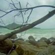 Video 1080p - Cloudy weather. Beach near Kamala Beach. The rainy season in Thailand — Stock Video #52128635
