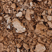 Seamless texture - the surface of the soil — Stock Photo