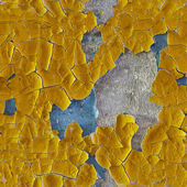 Cracked old enamel on surface of wall - seamless pattern — Stok fotoğraf
