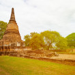 Ancient Ruins of Buddhist temple. Thailand, Ayutthaya — Stock Photo #52564811