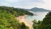 Laem Sing beach, Phuket island, Thailand. Top view — ストック写真