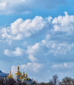 Peaceful sky with clouds over Ukraine — Stock Photo