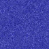 Microchip abstract vector blue background - high tech circuit bo — Stockvektor