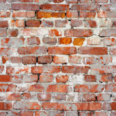 Seamless texture of an old brick wall. Grunge architecture patte — Stock Photo