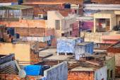 Roofs of the poor houses. Agra, India — Stock Photo