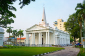 St. George's Church in Georgetown, Penang, Malaysia — Stock Photo